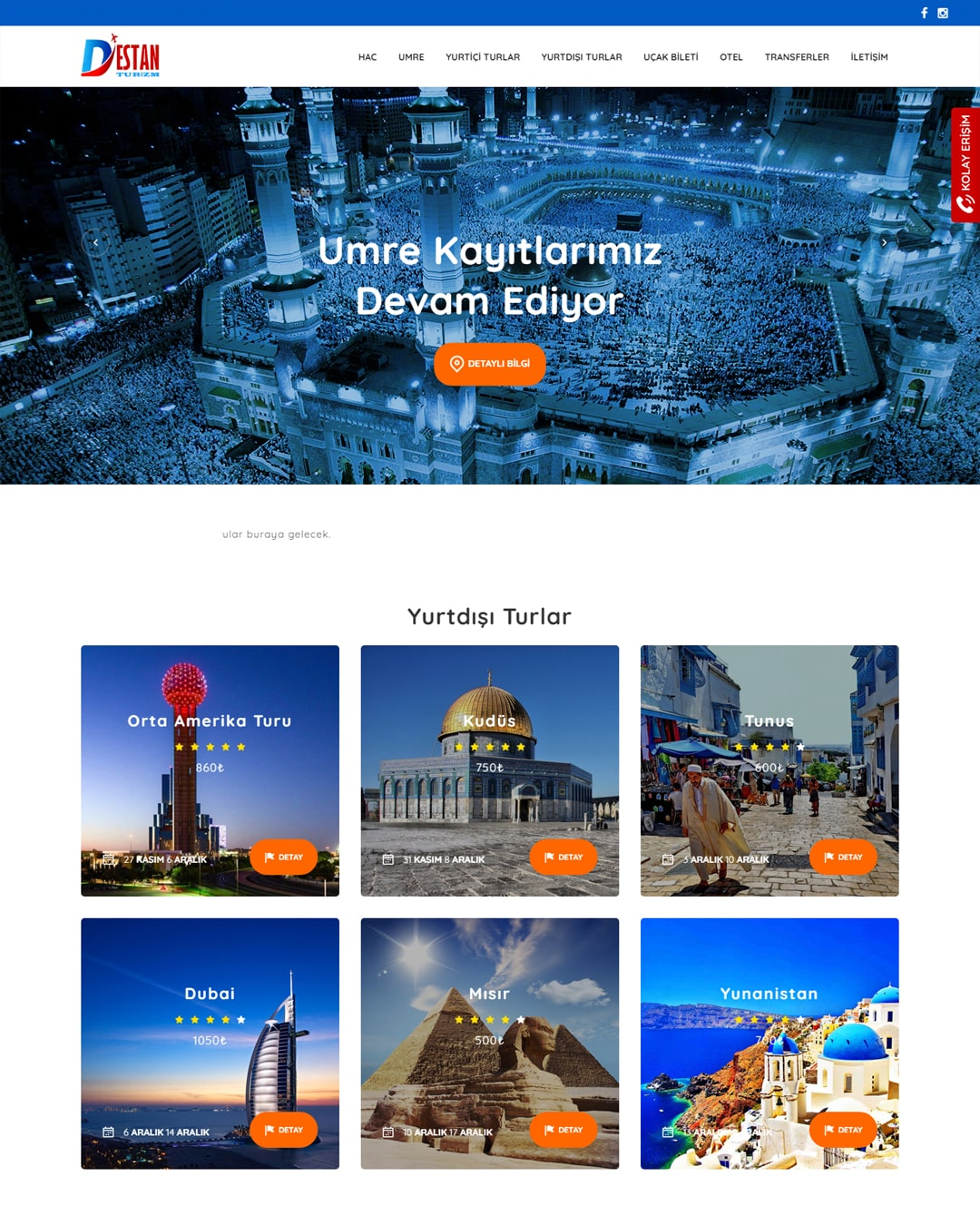 Malatya Destan Tour Web Site